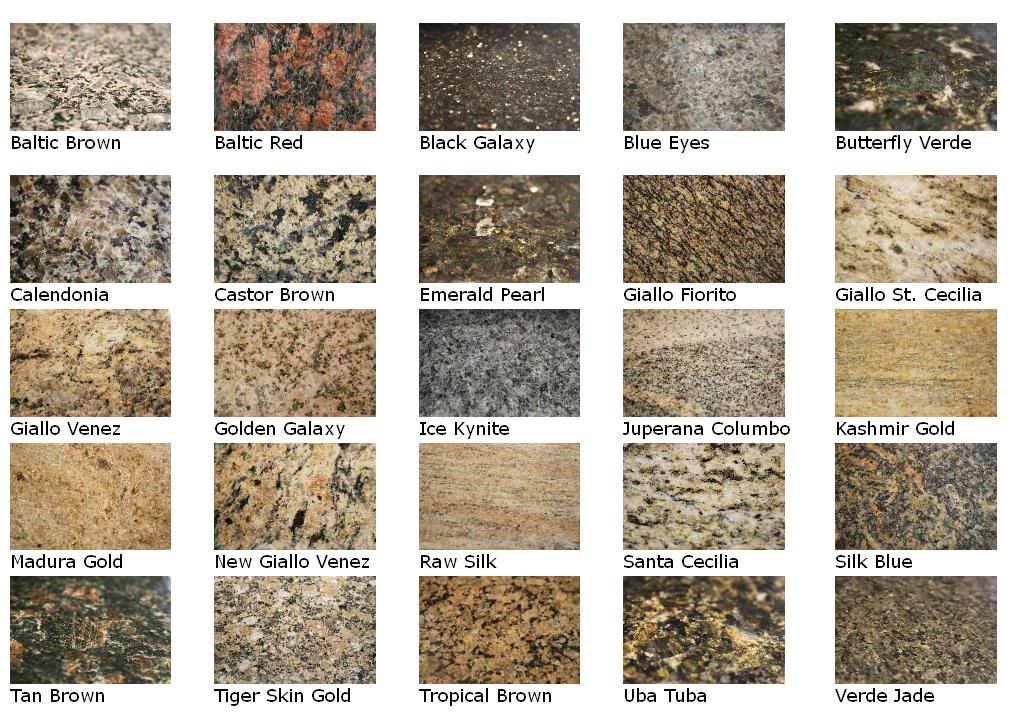 Granite Countertop Samples : Granite Samples